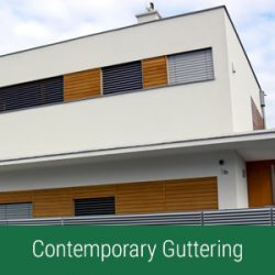 contemporary guttering