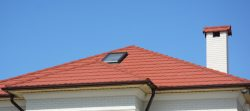 gutter on the house